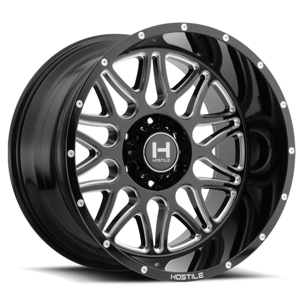 H111 Blaze 6l Blade Cut Hostile Wheels