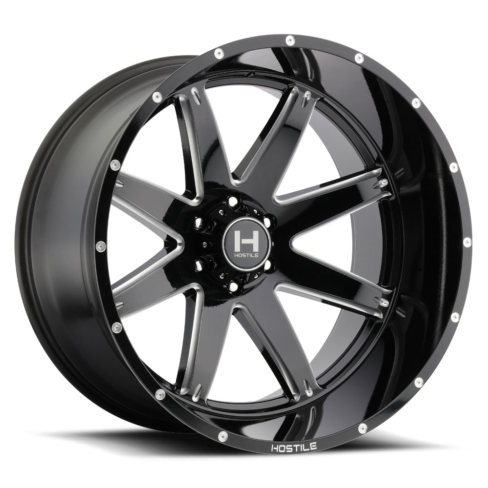 2015 F150 Black Wheels >> H109 ALPHA (6L) Blade Cut - Hostile Wheels